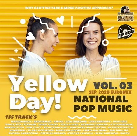 Обложка Yellow Day! -  National Pop Music Vol.03 (2020) Mp3