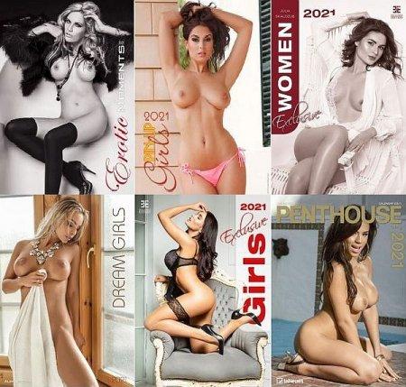 Обложка Erotic Calendar 2021 - Все Эротические календари на 2021 год (13 шт. / PDF, JPG)