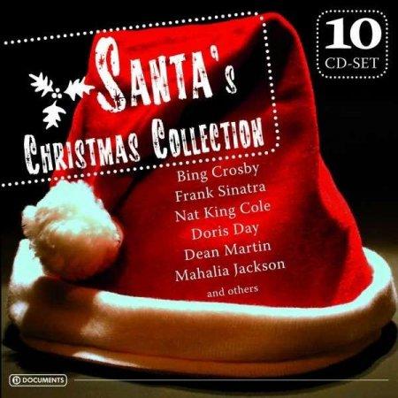Обложка Santa's Christmas Collection (10CD Box set) (2011) AAC