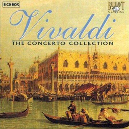Обложка Trevor Pinnock - Vivaldi - The Concerto Collection (8 CD Set) (2005) Mp3