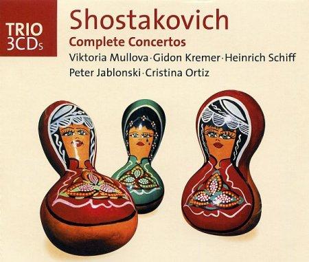 Обложка Shostakovich: Complete Concertos (3CD Set) (2003) lossless